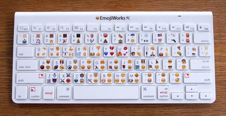 Here S A Physical Emoji Keyboard That Costs 100 Aivanet Emoji Keyboard Emoji Keyboard