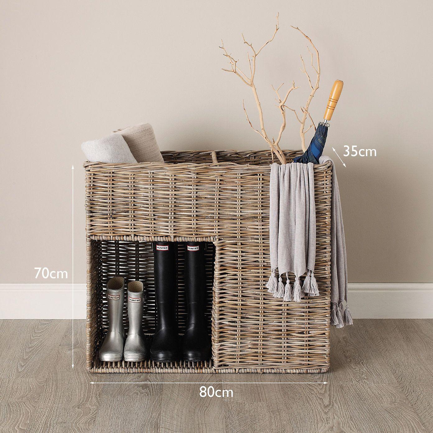 Hallway Basket | The White Company