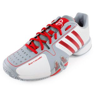 outlet store d1faa 2d520 Worn by Novak Djokovic, the adidas Men`s Adipower Barricade 7 Novak  Djokovic Tennis Shoes features a lightweight feel and exceptional comfort  for enhanced ...