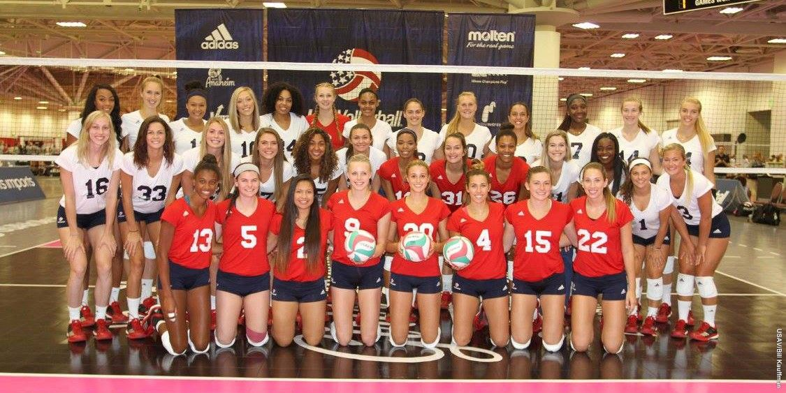 Kloth Closes Usa Volleyball Experience With 16 Kills In Final Match Usa Volleyball Volleyball News Creighton University