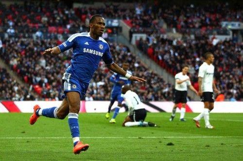 Didier Drogba Goal Celebration