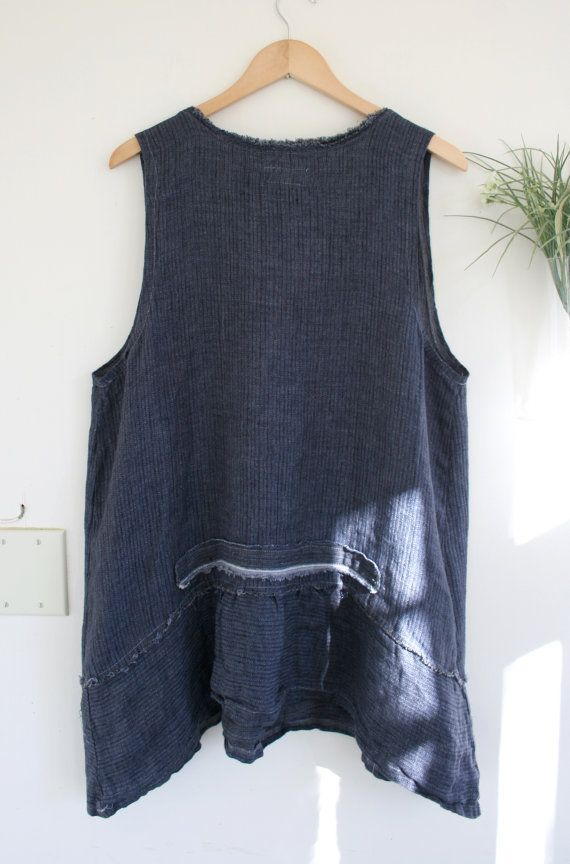 Linen Artists Tunic / by Breathe Clothing by BreatheAgainClothing
