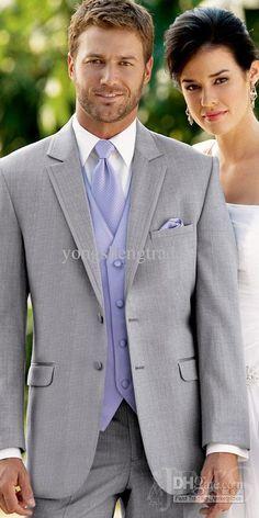 Cheap Groom Tuxedos Best Man Suit Wedding Groomsman Custom Made ...