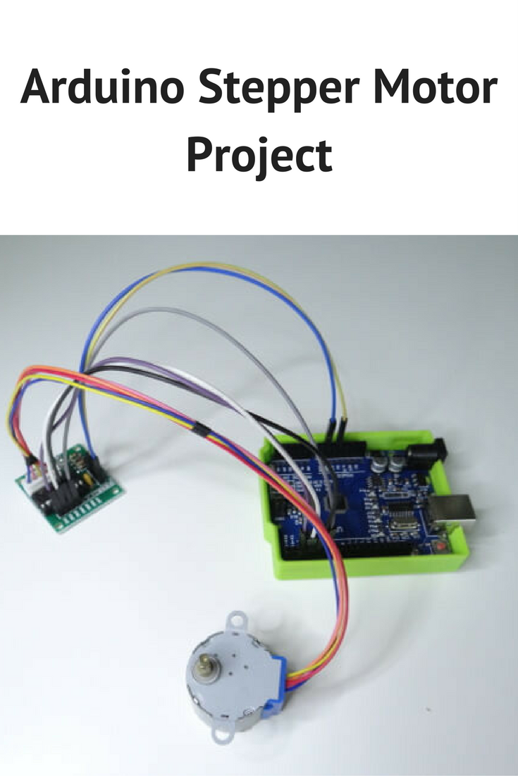Arduino Stepper Motor Project Electronics Pinterest Wiring Projects And
