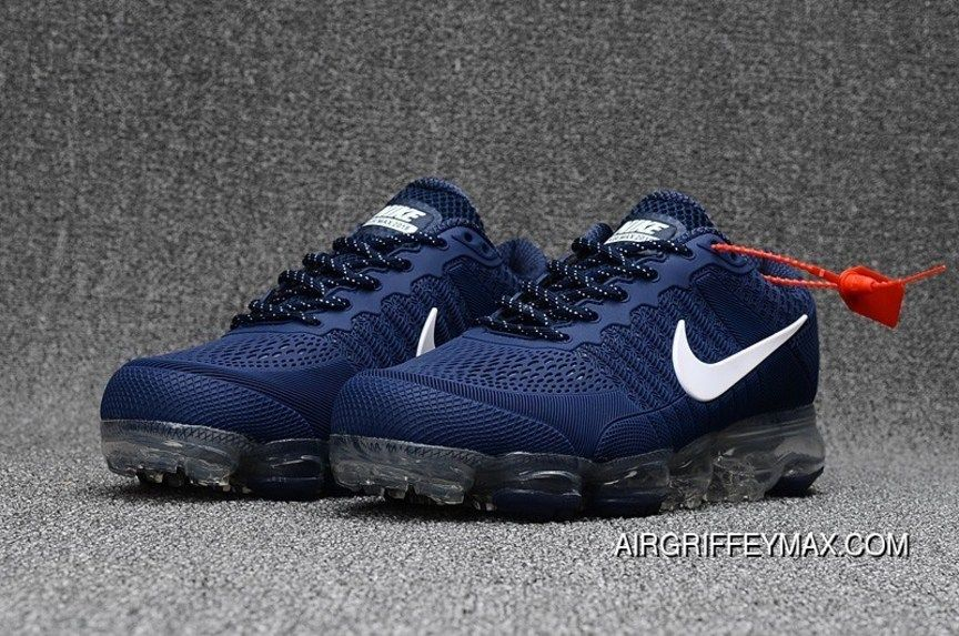 Nike Air Vapormax Flyknit 2018 Royal Blue White Top Deals in