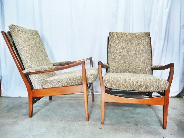 Just In 8 12 13 | Cintique Danish Style Lounge Chairs, Mid