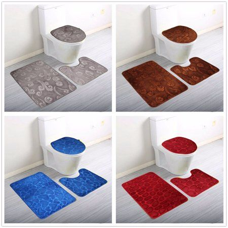 Home Bathroom Mat Sets Bathroom Rug Sets Pedestal Mats