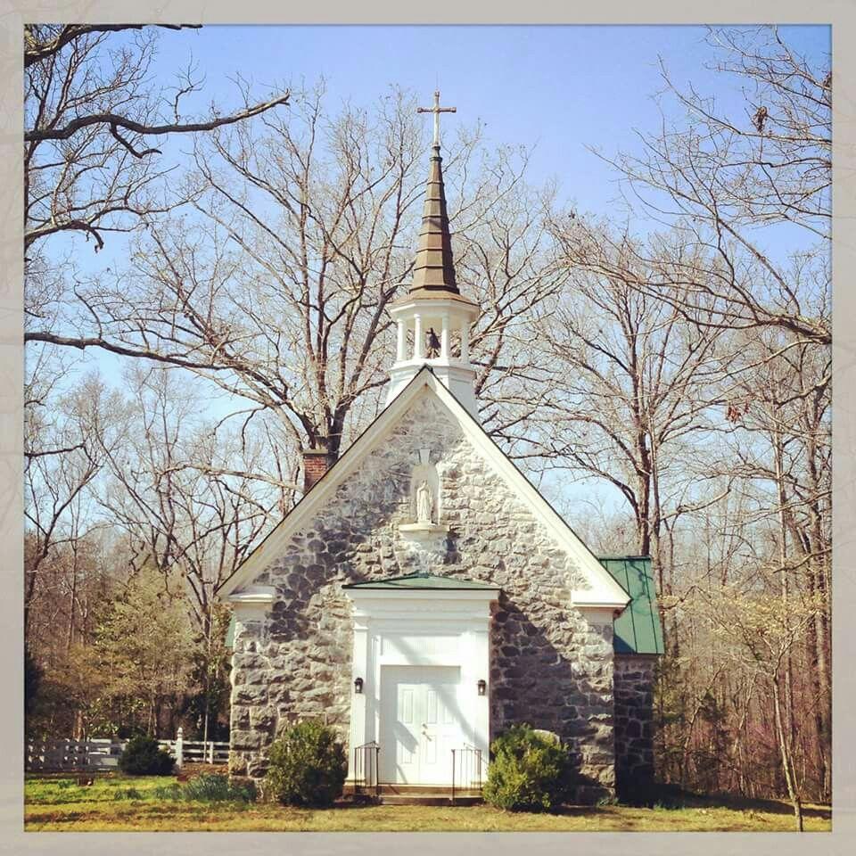 Oak Ridge Estate Chapel In Virginia Country Church Cathedral Church Church Pictures