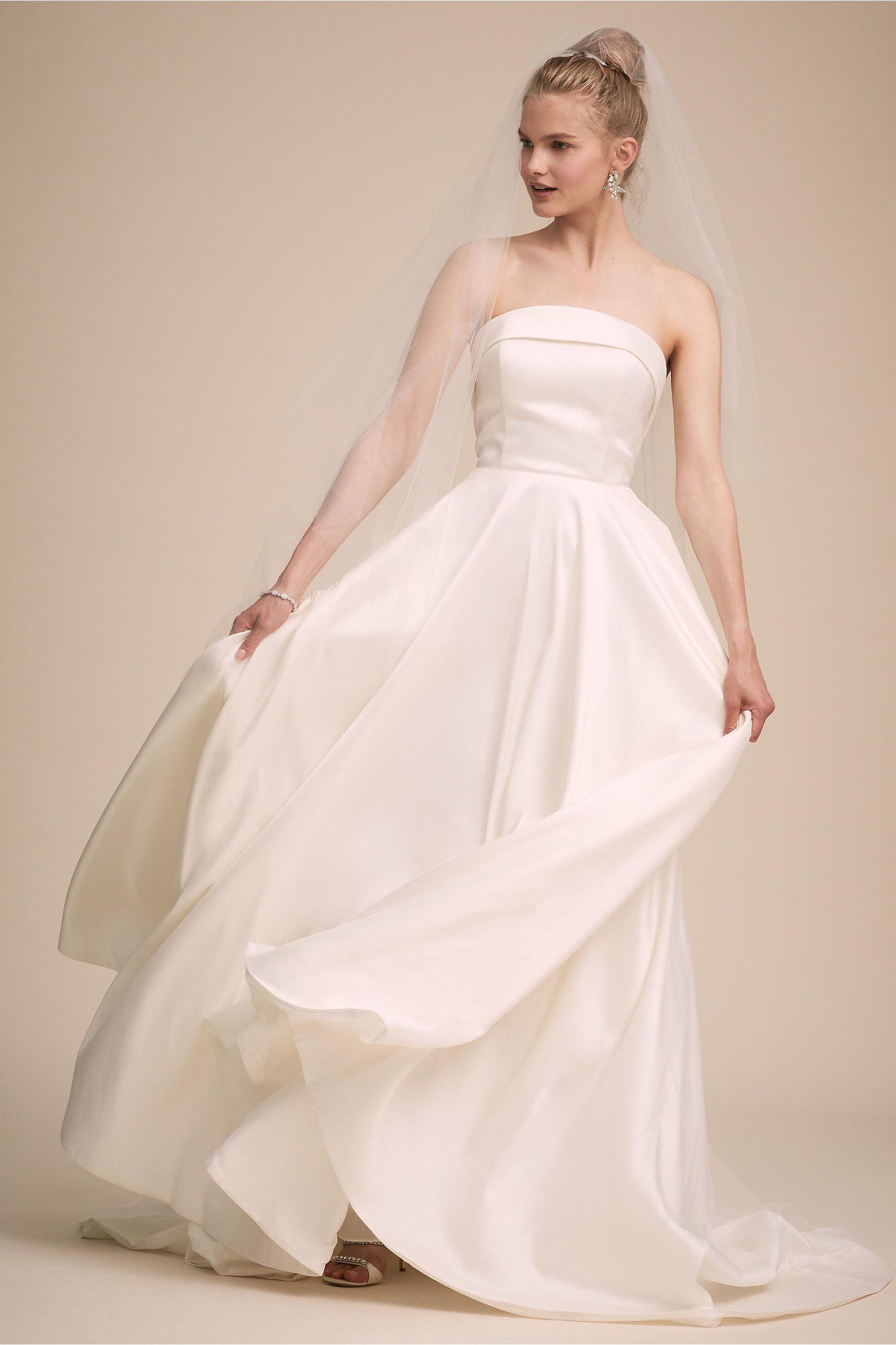 Jenny By Jenny Yoo Carrington Gown Bhldn Wedding Dress Wedding