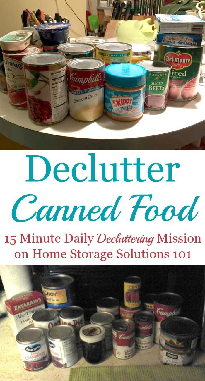 Canned Food Shelf Life, Safety & Storage Tips Home