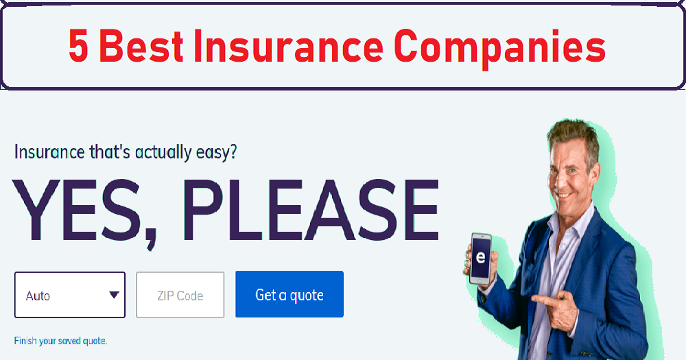 Top 5 Best Insurance Companies For Insurance Quote Online