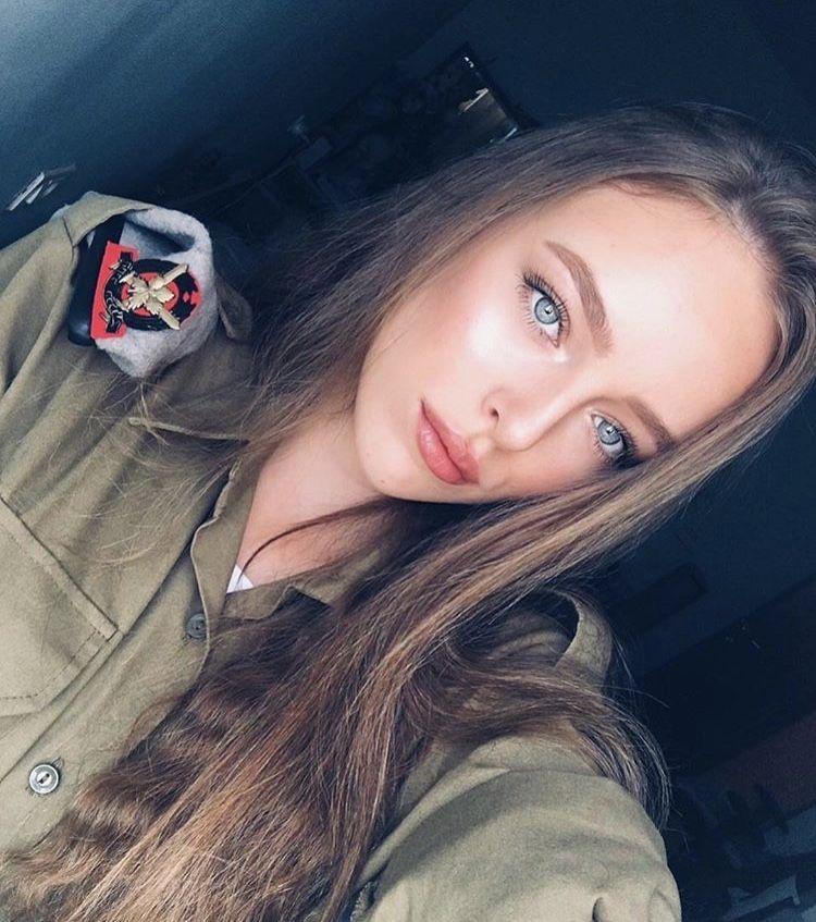 Gorgeous Eyes Israeli Girls Idf Women Female Soldier
