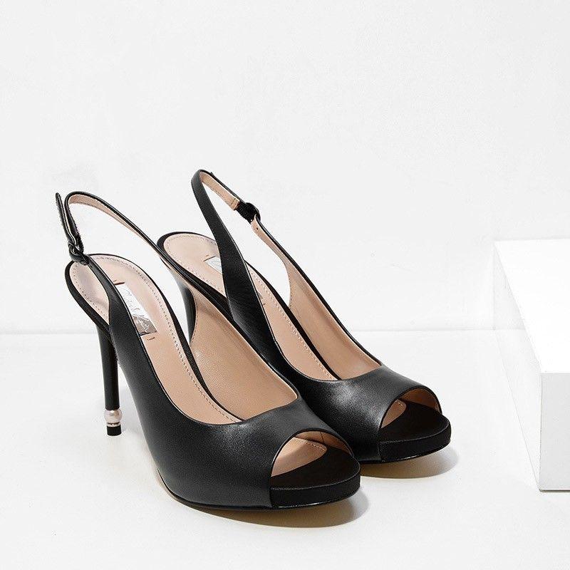 c845ba3634 Pearl Embellished Heels | CHARLES & KEITH | Shoes | Embellished ...