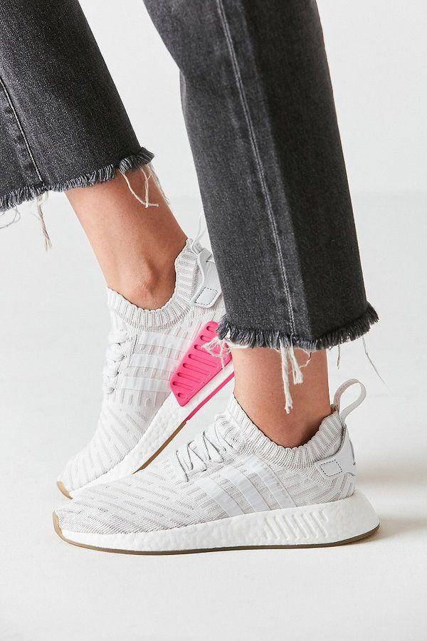 Adidas originali nmd r2 primeknit scarpa bellissima di moda