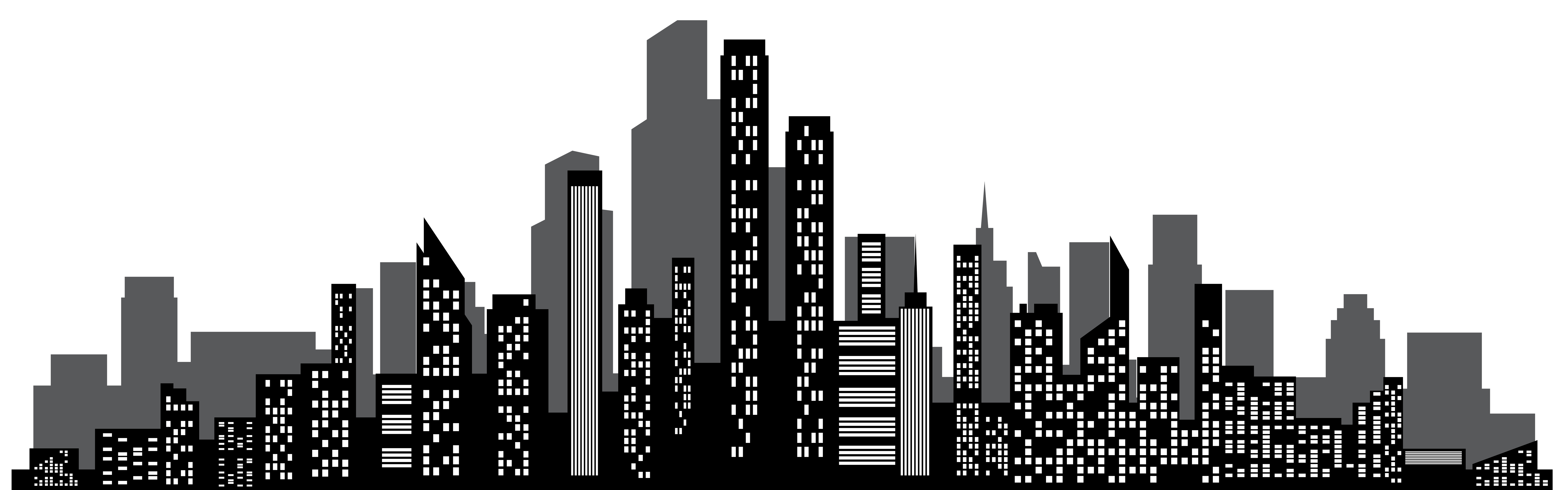 Cityscape Silhouette PNG Clip Art Gallery Yopriceville