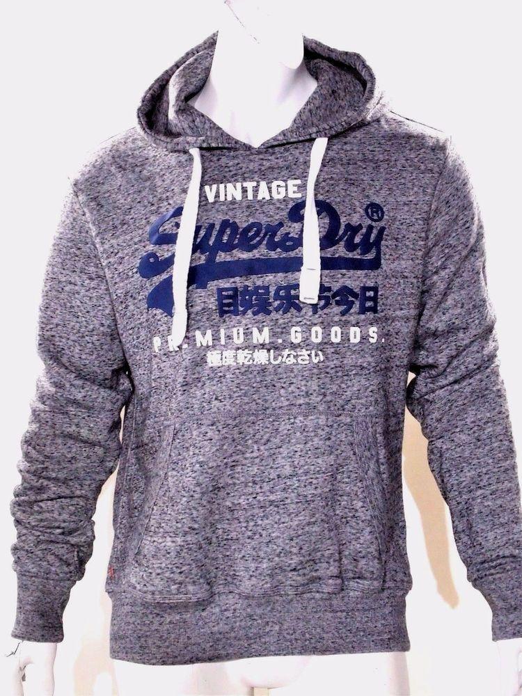 Superdry fleece sweatshirt men's hoodie size xxl #Superdry