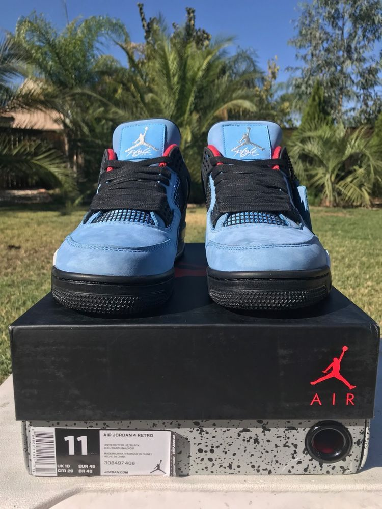 28f49eb02a6 NEW AIR JORDAN 4 RETRO TRAVIS SCOTT CACTUS JACK SIZE 11 FAST/FREE SHIPPING  #fashion #clothing #shoes #accessories #mensshoes #athleticshoes (ebay link)
