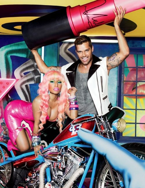 Check out M.A.C Viva Glam's popstastic David LaChapelle ad starring Nicki Minaj and Ricky Martin!