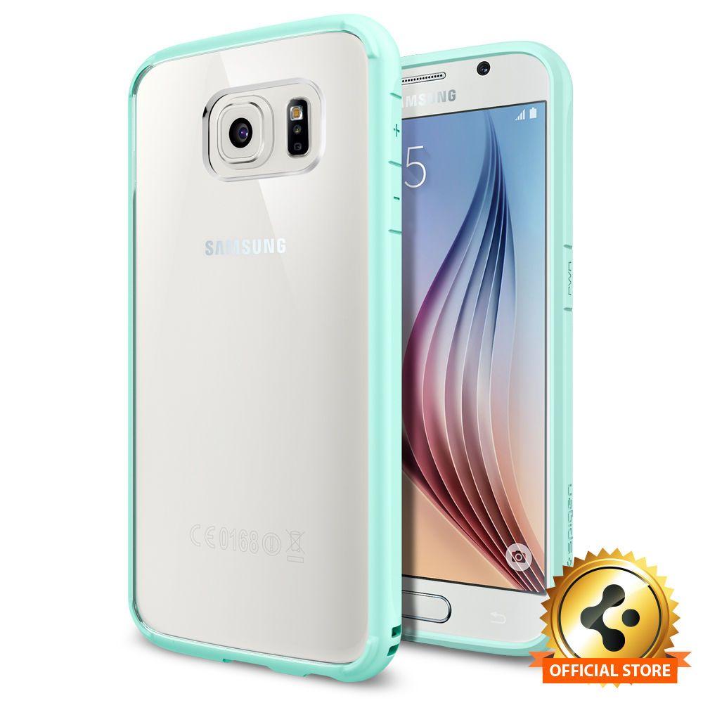 meet f186f a6e37 Spigen Outlet] Samsung Galaxy S6 [Ultra Hybrid] Mint(Pc) Shockproof ...