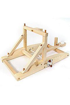 wooden catapult