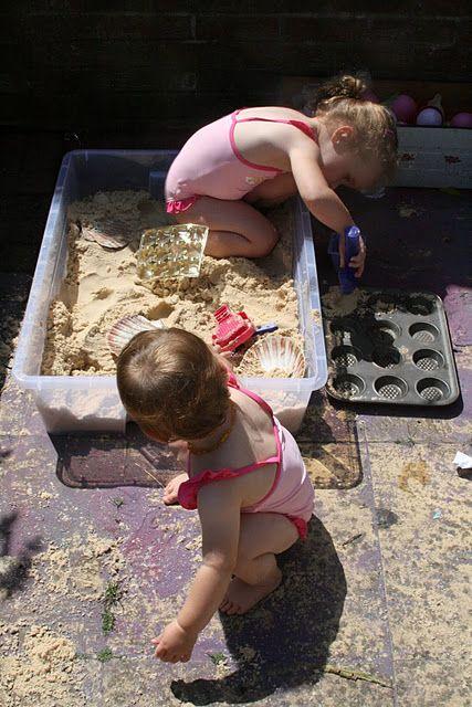 Diy Sand Box The Imagination Tree Cat Playground Outdoor Sandbox Imagination Tree