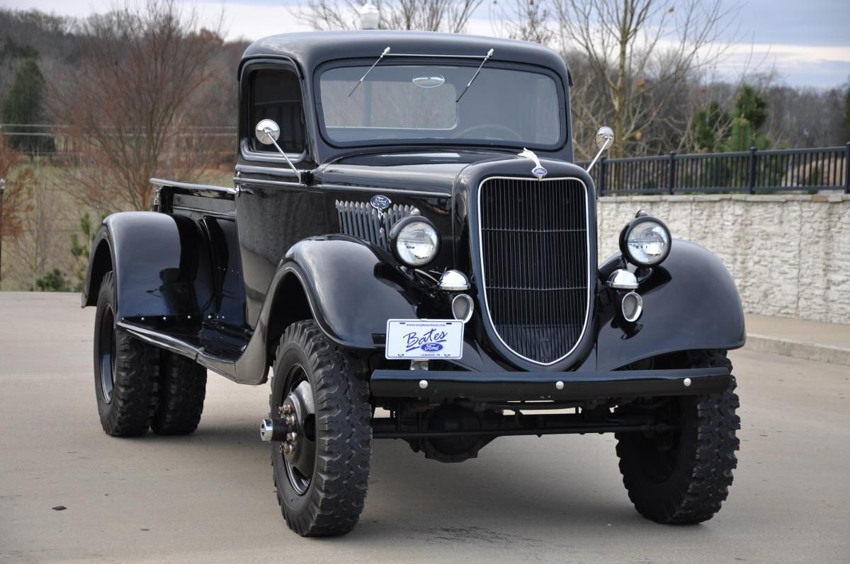 The Truck Is All Steel With The Exception Of The Custom Rear Fenders Description From Tnrods Com I Searched For Ford Trucks Ford Pickup Trucks Custom Trucks