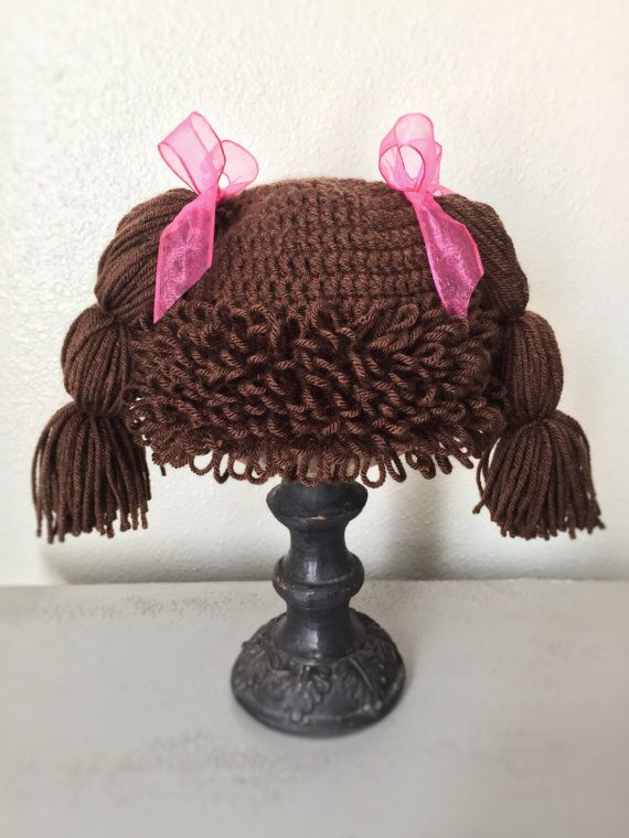 Cabbage Patch Baby Wig/Halloween Costume/Photo Prop | Angry Birds ...