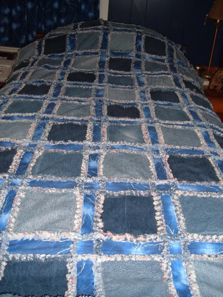 39 Latest Jeans Quilt Patterns - The Funky Stitch