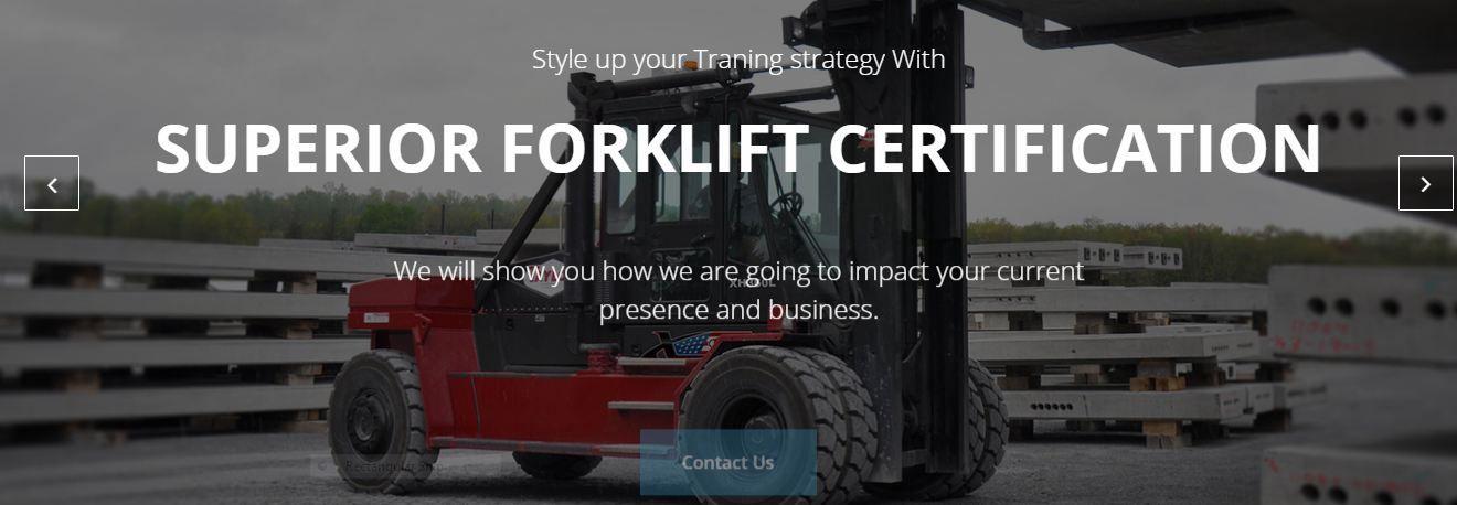 Forklift Certification California Forklift Certification Online