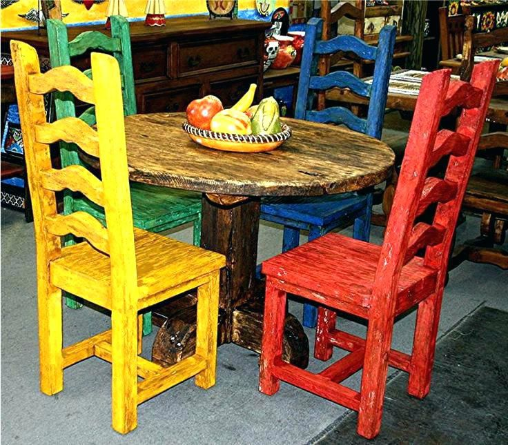 Mexican Outdoor Decor Furniture Wooden Party Decorations