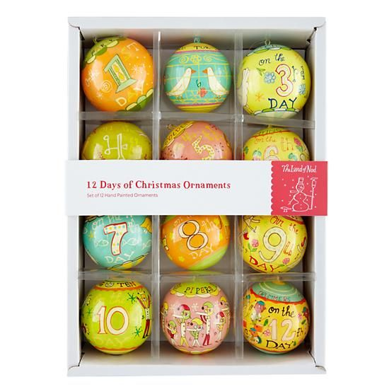 michael marby twelve days of christmas ornaments ornament reviews - 12 Days Of Christmas Ornament Set