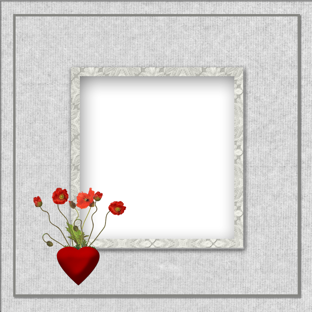 gothic frame png | My treat for this week - two cute Valentine ...