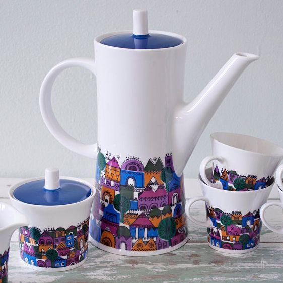 Tea Time! - Vintage Melitta Tea Set 1960   biroRobot