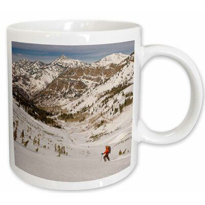 Symple Stuff Scoles Snowboarder Cardiff Fork Wasatch Utah USA Coffee Mug Colour: White, Capacity: 15 oz., Theme: Delicate Arch, Utah, USA