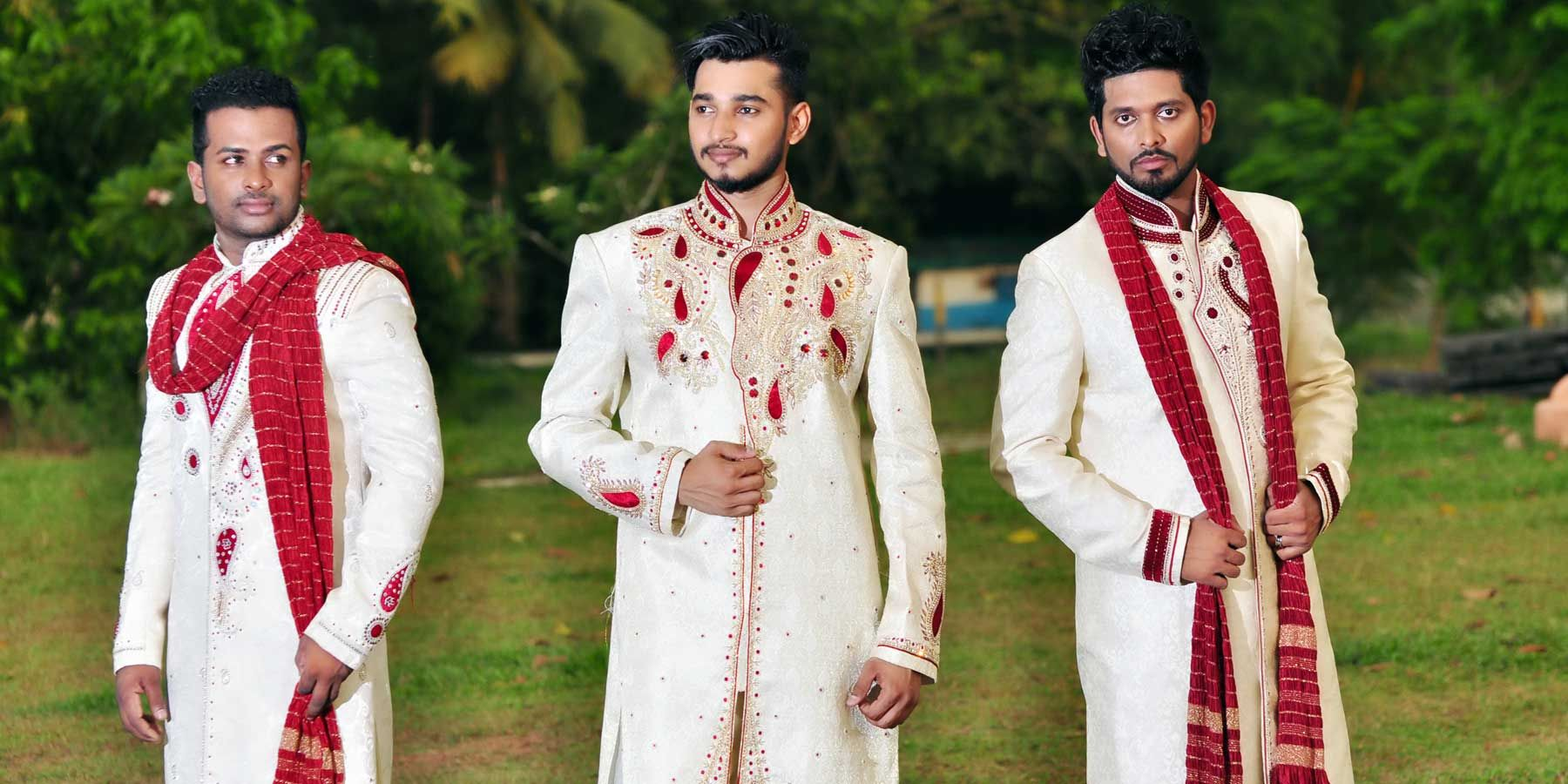 Sri Lanka Wedding Suits