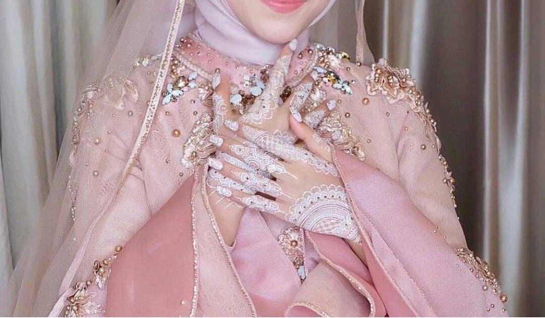 28 Model Kebaya Pengantin Jilbab Modern Paling Baru Pengantin Baju Pengantin Gaun