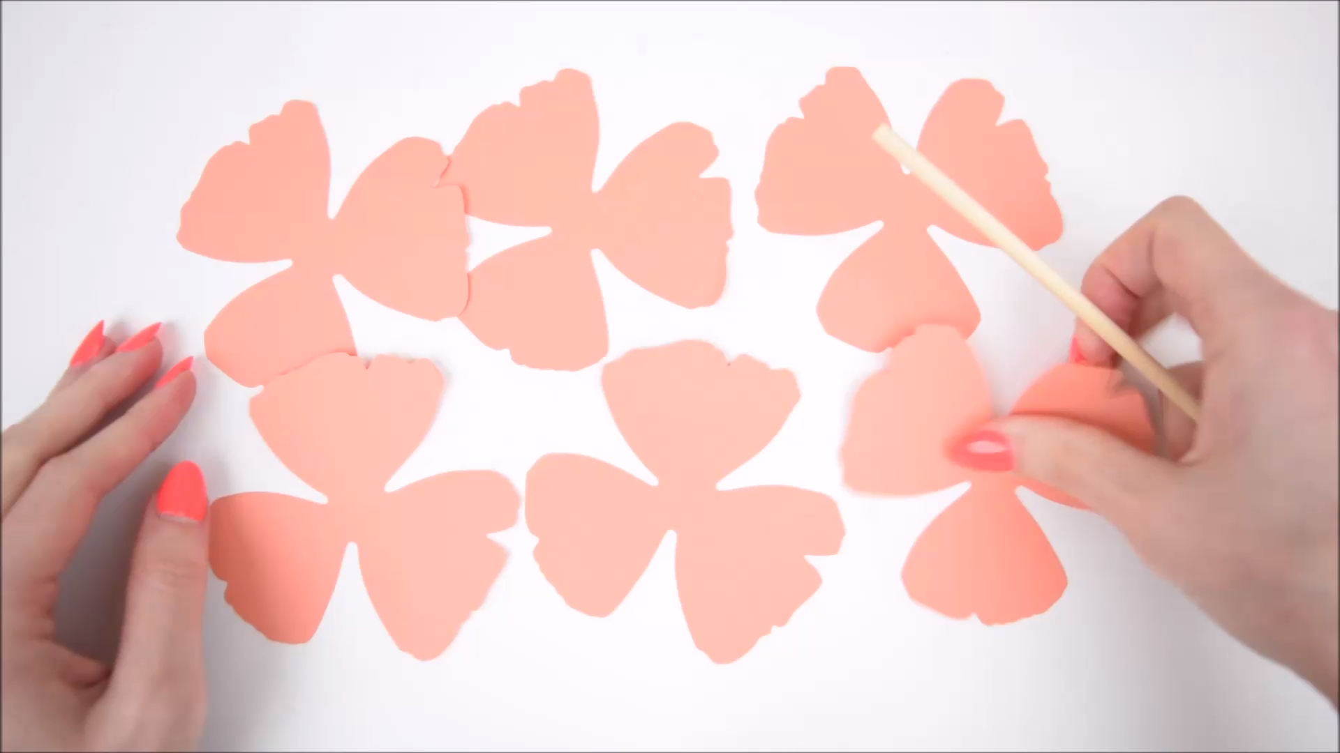 How to Make Small Paper Roses - Easy Paper Flower Tutorial