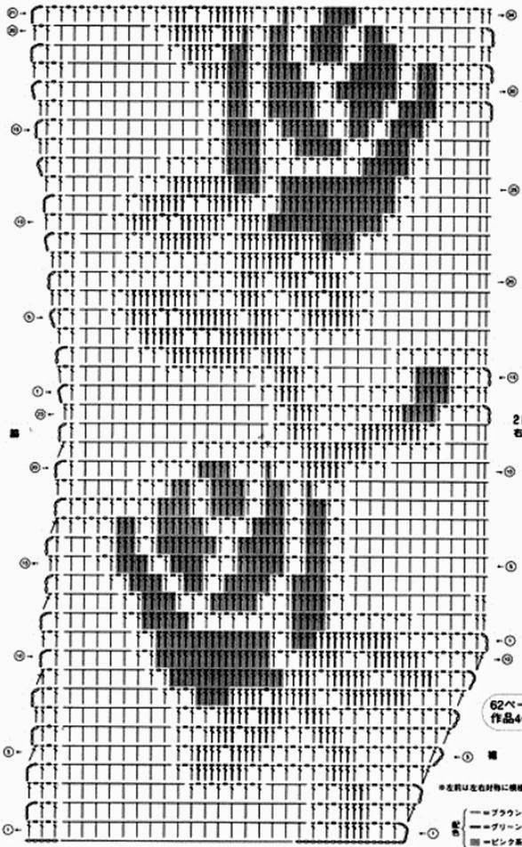 Häkelmuster Fundgrube: Weste mit Rosen im Filethäkelmuster | crochet ...