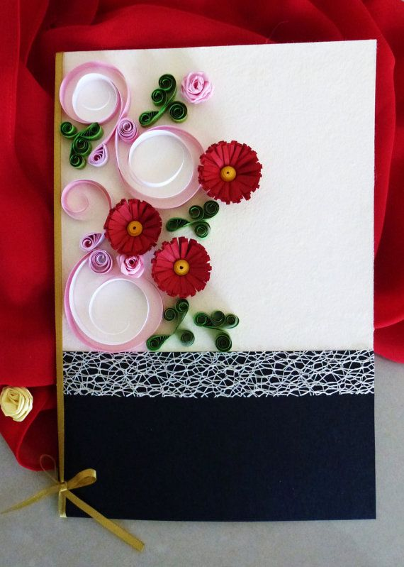 Greeting Card Handmade Paper Quillng Art Card Special Occasions