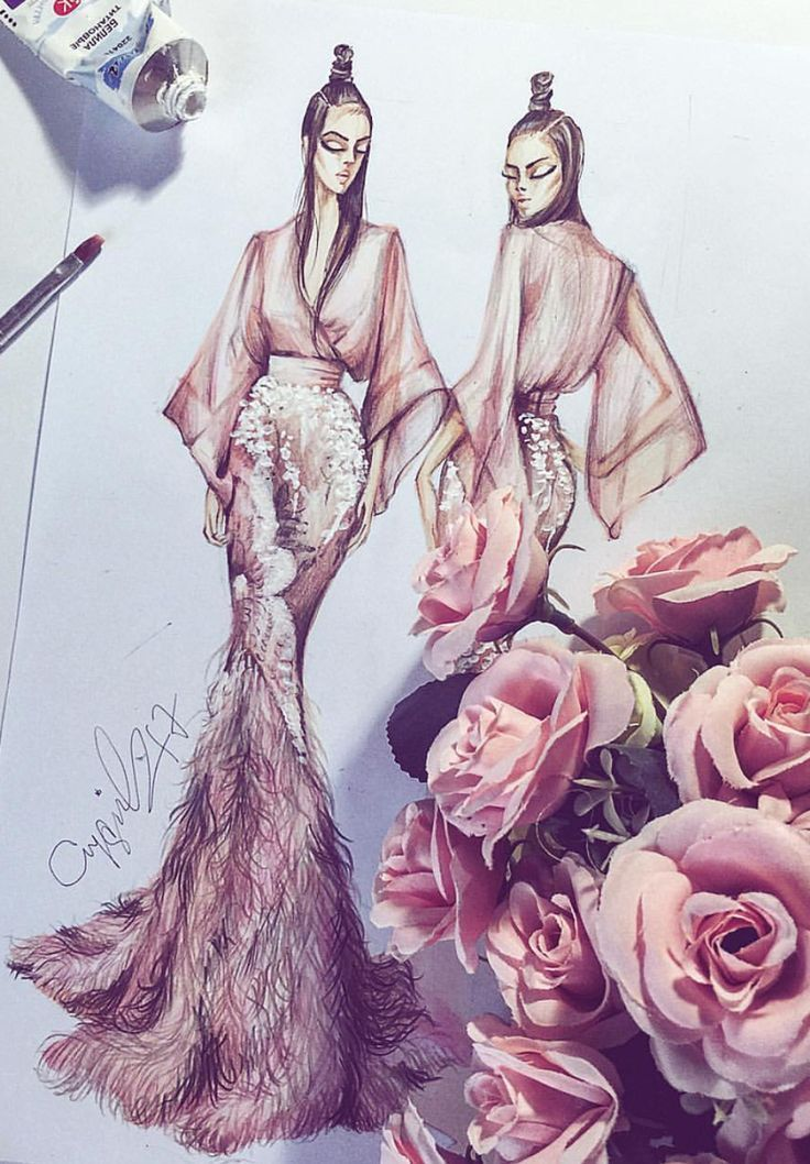 Photo of AYGUL_SAFARLI #Fashionillustrations | Be inspiring ❥ | Mz. Manerz: Well done …