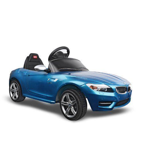 Black Friday Bmw Z4 Kids 6v Electric Ride On Toy Car W Pa Remote Control Blue From Aosom