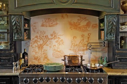The Best French Country Kitchen by Wilson Kelsey French country