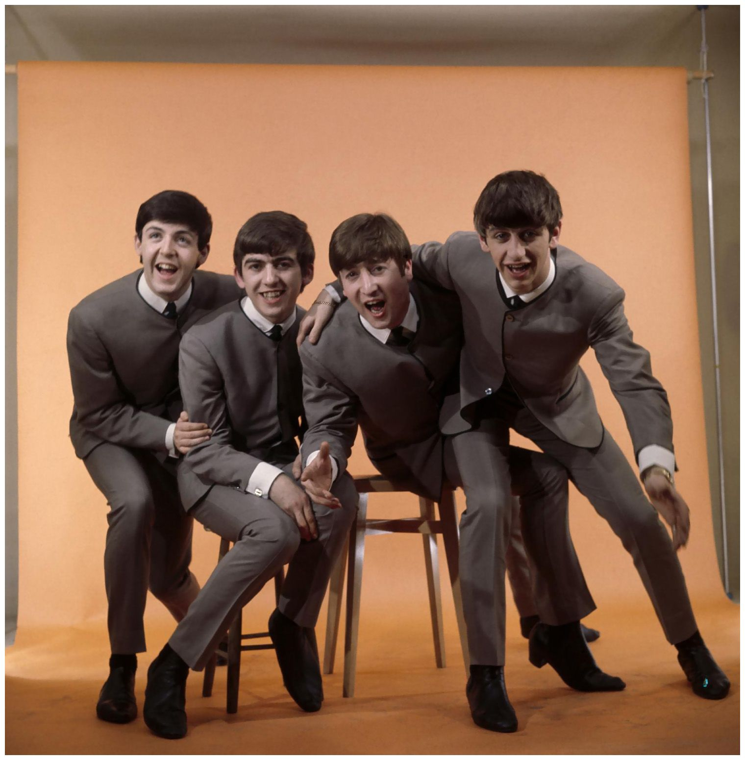 The Beatles (1964) Photo Bob Van Dam