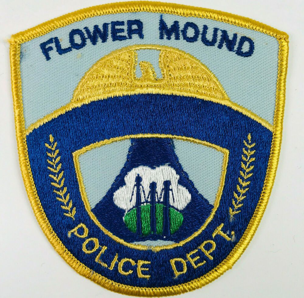 Flower Mound Police Texas Patch In 2020 Texas Police Police Police Patches