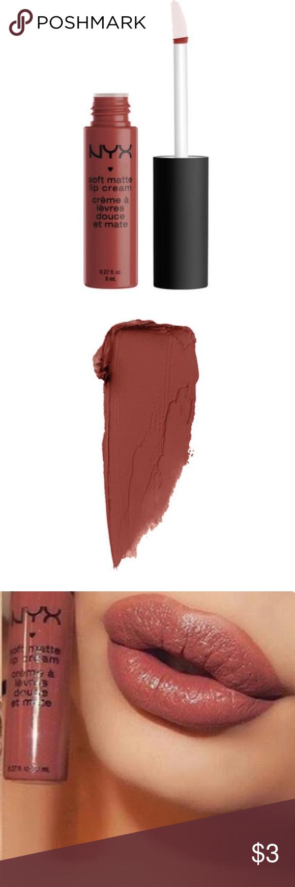 """NYX Soft Matte Lip Cream """"Rome"""" NWT Nyx soft matte lip"""