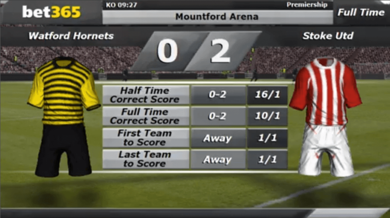 Betting virtual football football betting guaranteed win