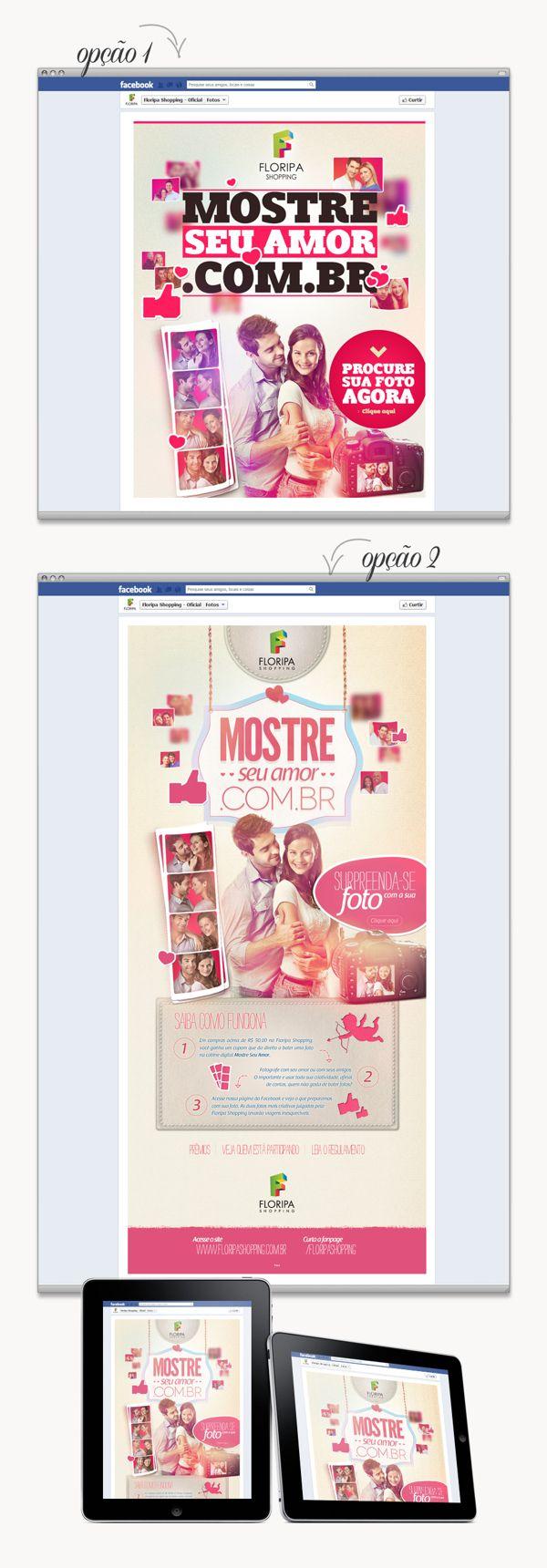 Floripa Shopping - Aplicativo Dia dos Namorados on Behance