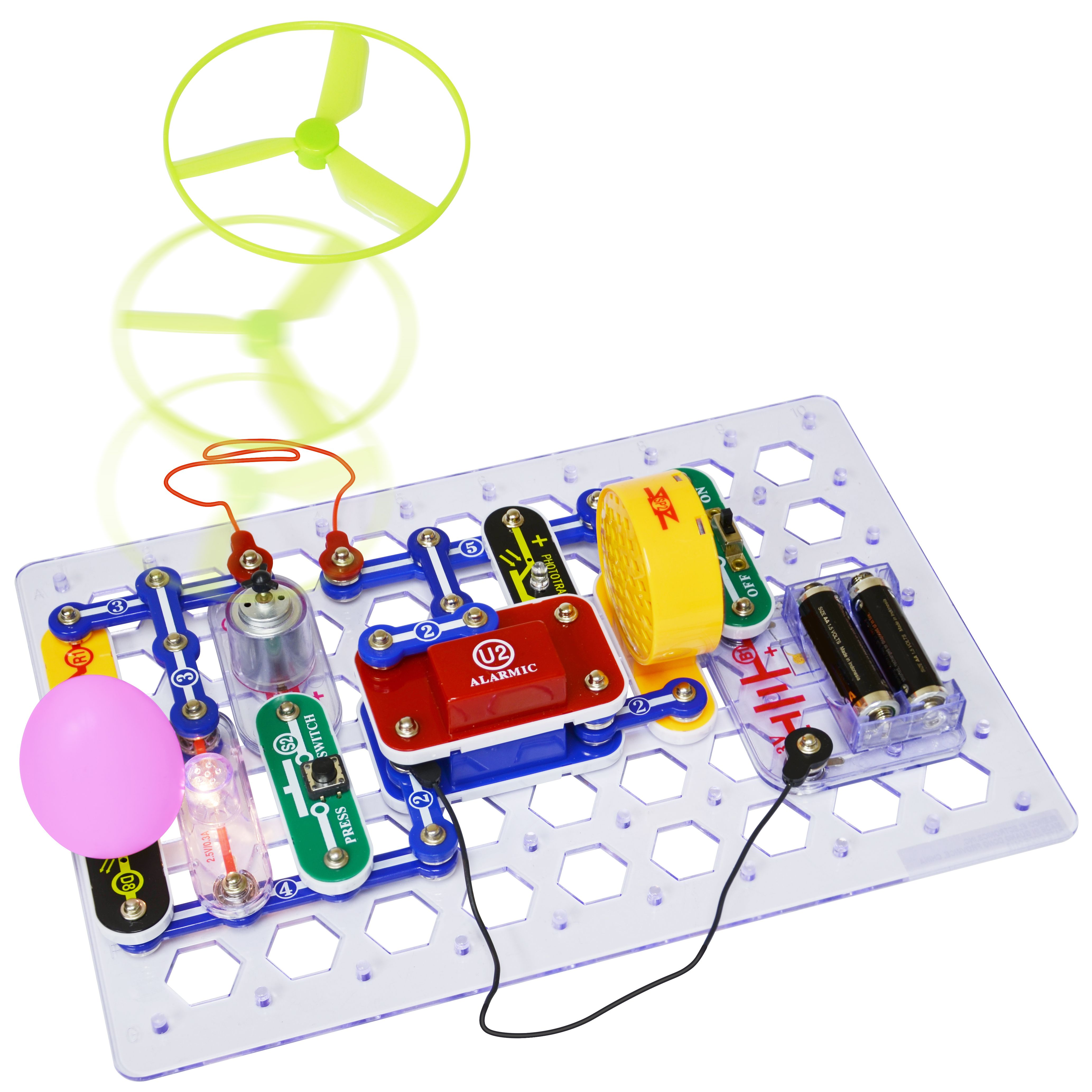 Snap Circuits Jr Select Is Here Build Over 130 Projects With 30 Circuit Parts
