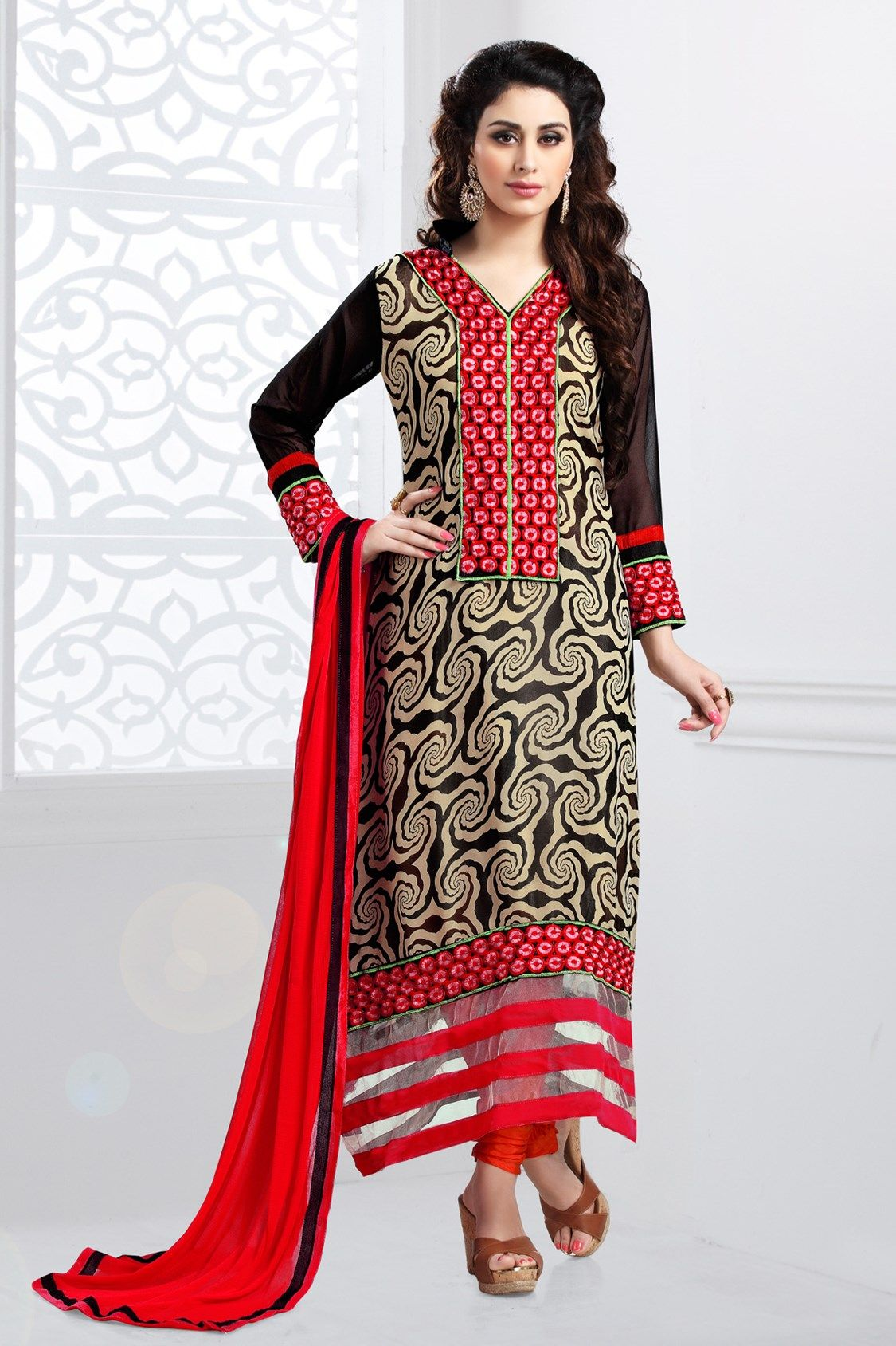 The Splendour #SalwarSuit collection is all about #Style and #PanacheOur Price: INR 1,648Shop Now: http://www.admyrin.com/pages/Splendour-Salwar-Suit/pgid-988194.aspx#SalwarKameez #Occasion #Georgette #Embroidery #COD #Party