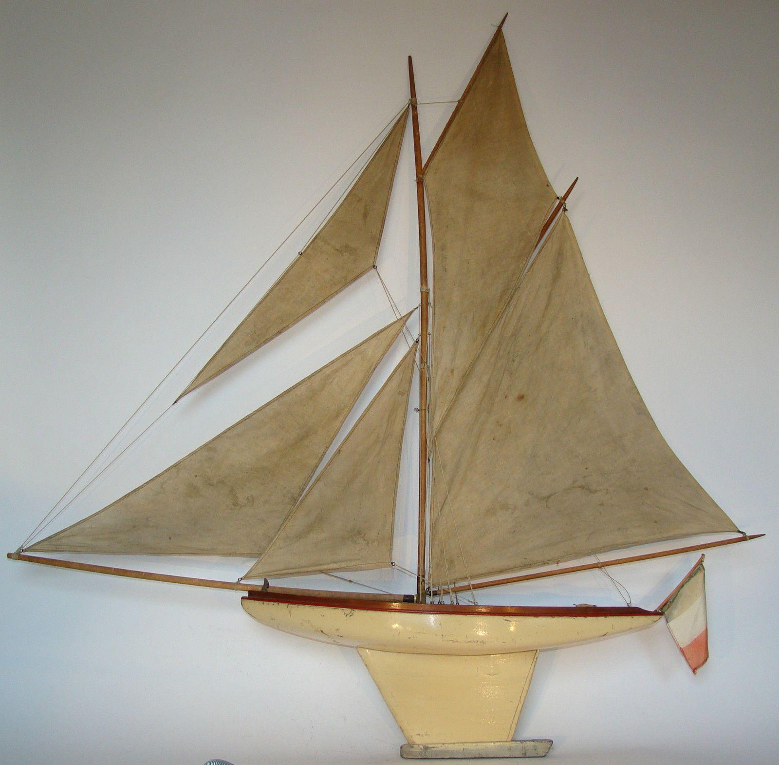 canot de bassin bateau voilier deffain 5 voiles s rie. Black Bedroom Furniture Sets. Home Design Ideas